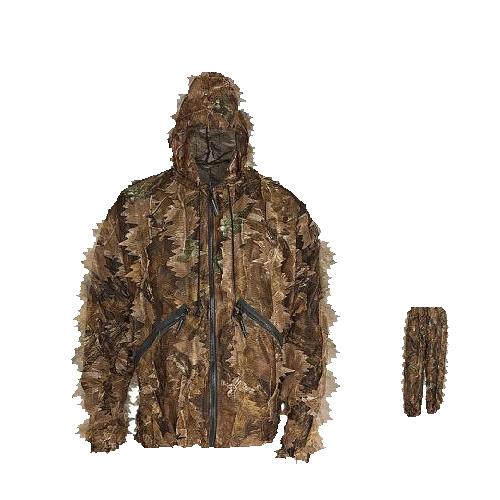3D Leaf Hunting Clothes Camo Set GS06