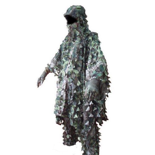 Camo Poncho Ghillie Suit GS08