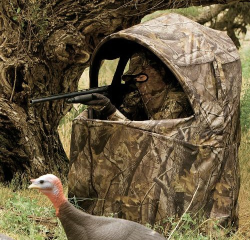 Hunting Blind Chair for One Man