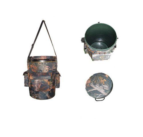 Hunting Seat & Bucket Fishing Plastic Bucket & Seat