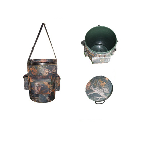 Hunting Seat & Bucket Fishing Plastic Bucket & Seat