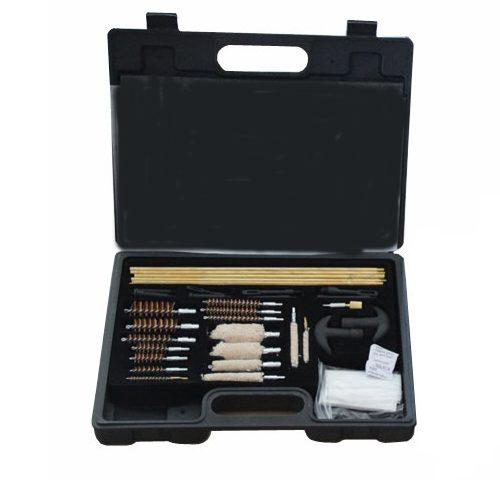 Plastic Box Copper Rod Gun Cleaning Tools Kit