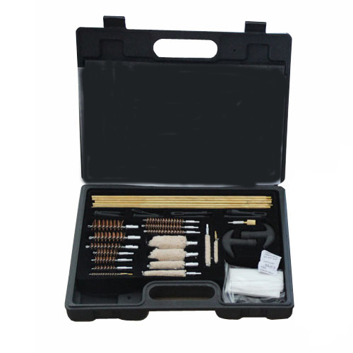 Plastic Box Copper Rod Gun Cleaning Tools Kit