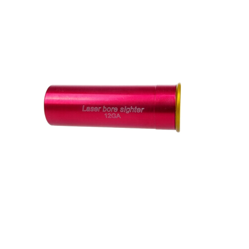 Red Copper 12GA Cartridge Laser Boresighter