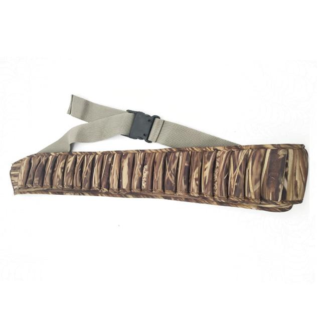 25 Shells Camouflage Neoprene Cartridge Belts (2)
