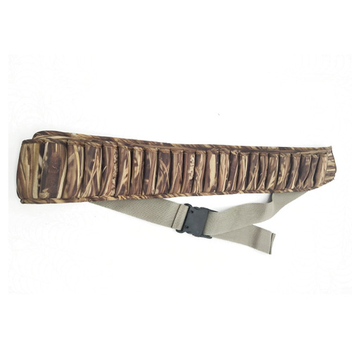 25 Shells Camouflage Neoprene Cartridge Belts