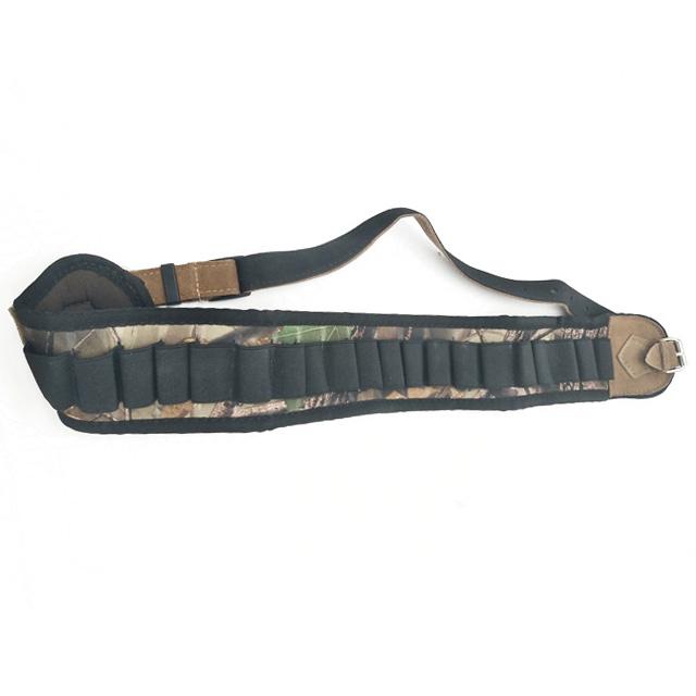 Adjustable Camouflag neoprene Shotshell Holder Cartridge Belt