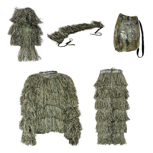 Camouflage Forest Hunting Ghillie Suit 042111