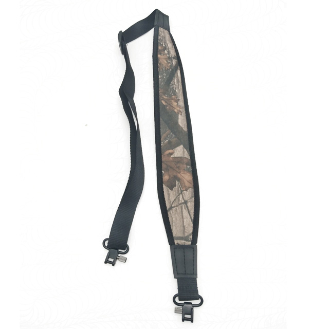 Camouflage Rifle Gun Sling with Swivels