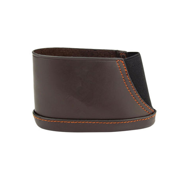 Durable Brown Leather Buttstock