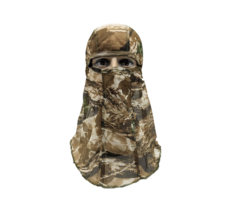 Good Quality Hunting Headcover Camo Mesh Face Mask
