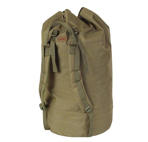 Green Round Decoy Bag with Shoulder Strap