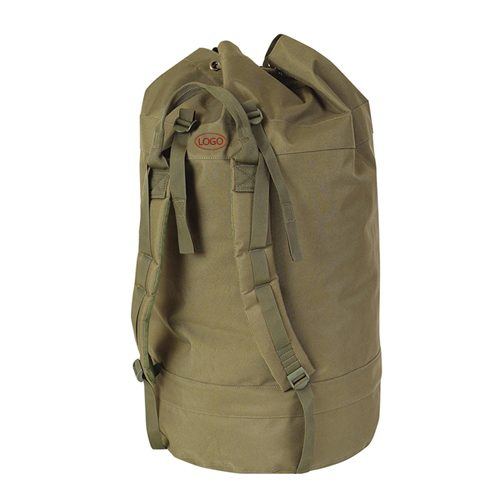 Green Round Decoy Bag with Shoulder Strap