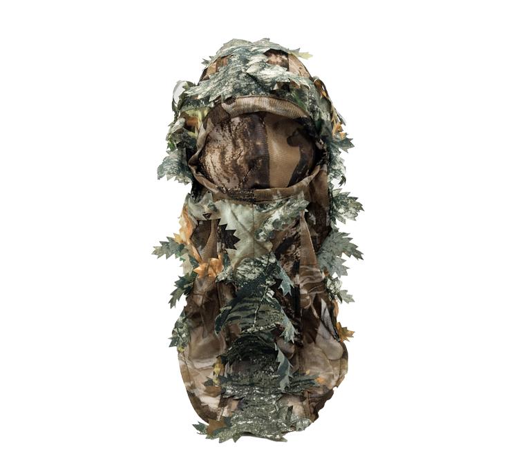 Hot Sale Good Quality Hunting Mask Green Leafy Head Net