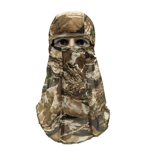 Hunting Headcover Camo Mesh Face Mask