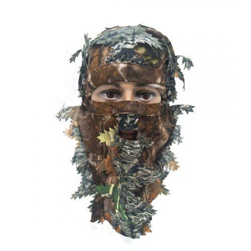 Hunting Mask Green Leafy Head Net 074004
