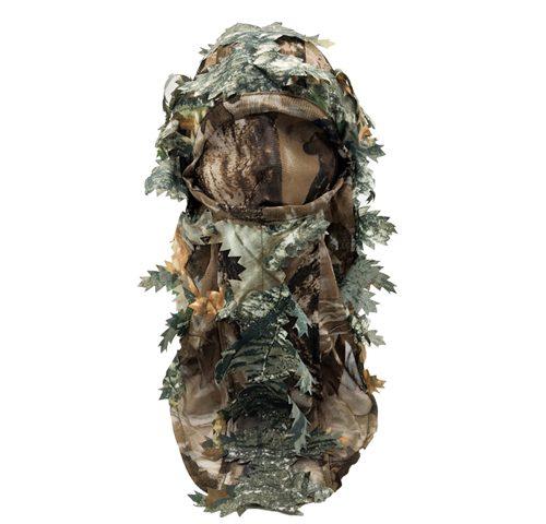 Hunting Mask Green Leafy Head Net
