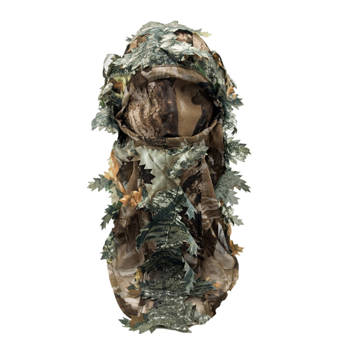 Hunting Mask Green Leafy Head Net