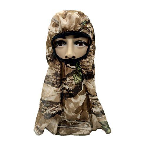 Hunting Net Headnet Camo Face Mask