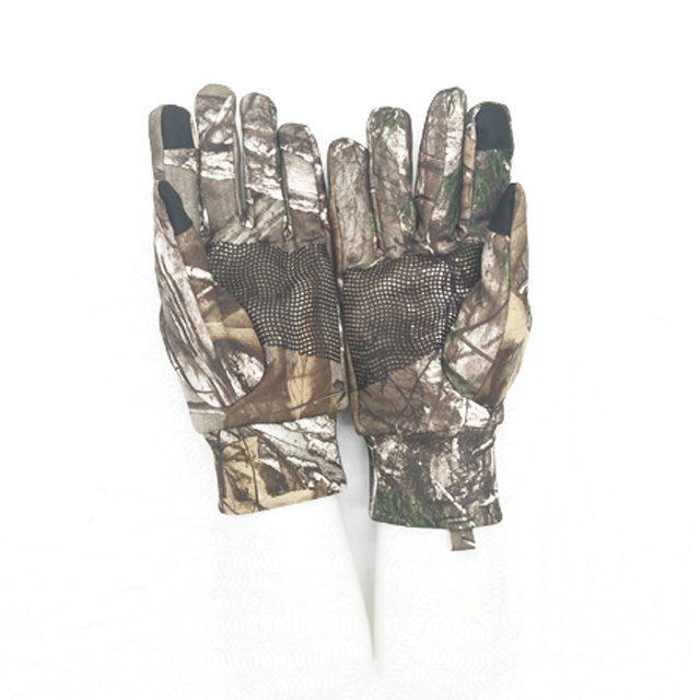 Mid-weight Camouflage Hunting Gloves