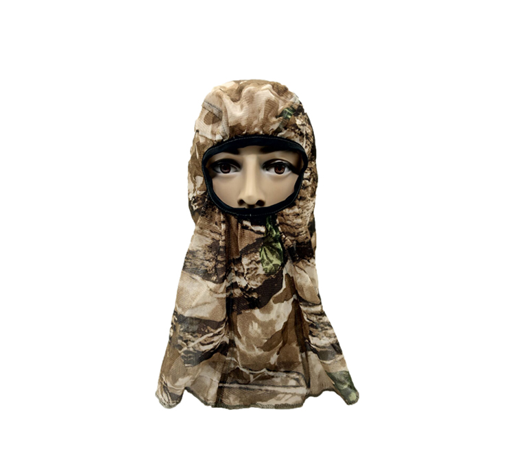 Outdoor Headcover Hunting Net Headnet Camo Hunting Face Mask