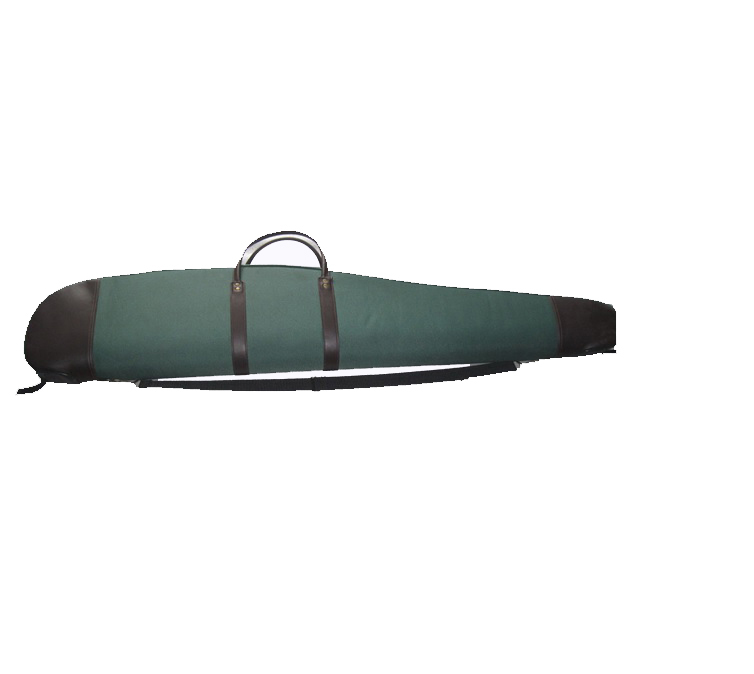 Scoped Rifle Case with Leather Trim097001