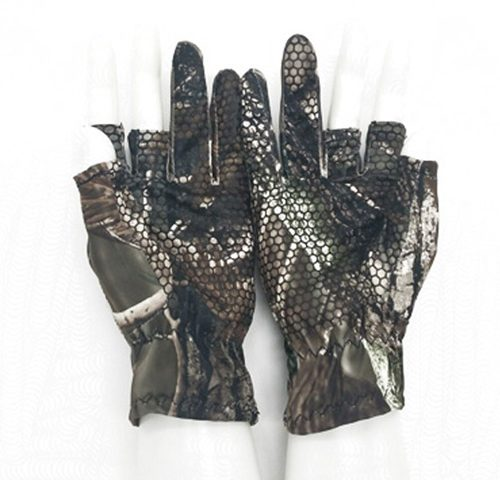 Thin Fingerless 3 Finger Fishing Gloves