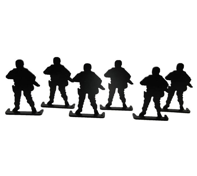 Standing Soldier Target Shooting Target Steel Human-like Posture Target