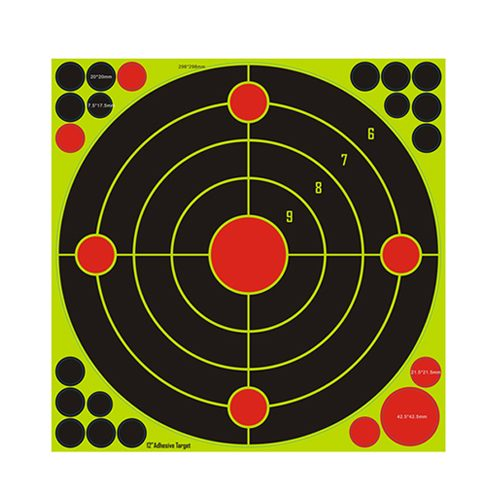 12 inch Reactive Splatter Shooting Targets