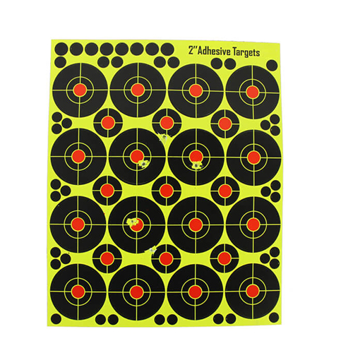 2 X 16 Splatter Reactive Shooting targets