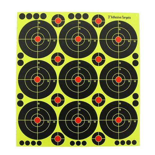 3 inch Splatter Reactive Shooting Targets