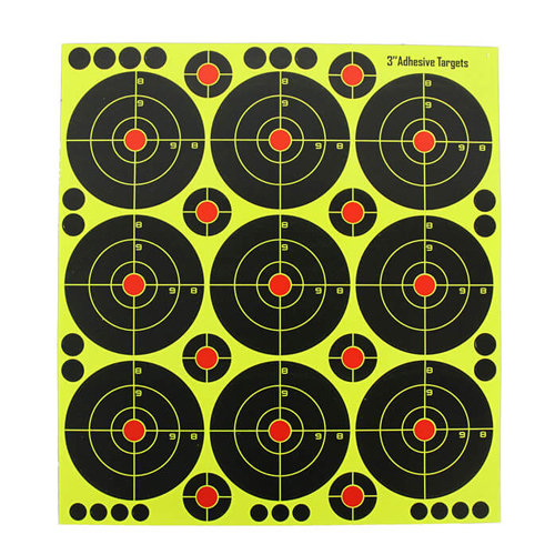 3 inch Splatter Reactive Shooting Targets