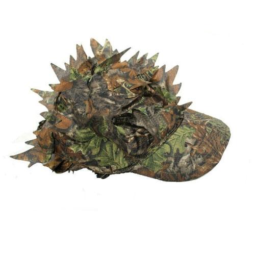 3D Hunting Cap Sneaky Leaf Caps