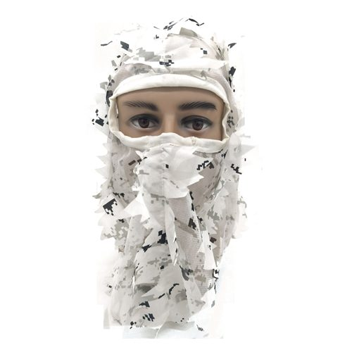 3D Snow Face Mask 074012