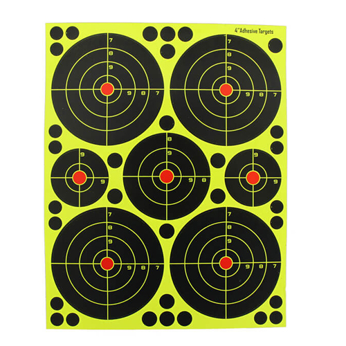 4 inch Reactive Shooting Target
