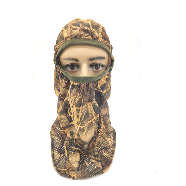 Breathable Camo Face Mask Hunting Mesh Face Mask