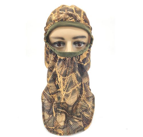 Camo Face Mask Hunting Mesh Face Mask
