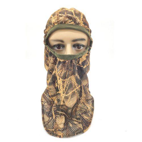 Camo Face Mask Hunting Mesh Face Mask
