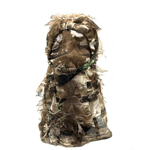 Camo Full Head Net 3D Leafy Face Mask