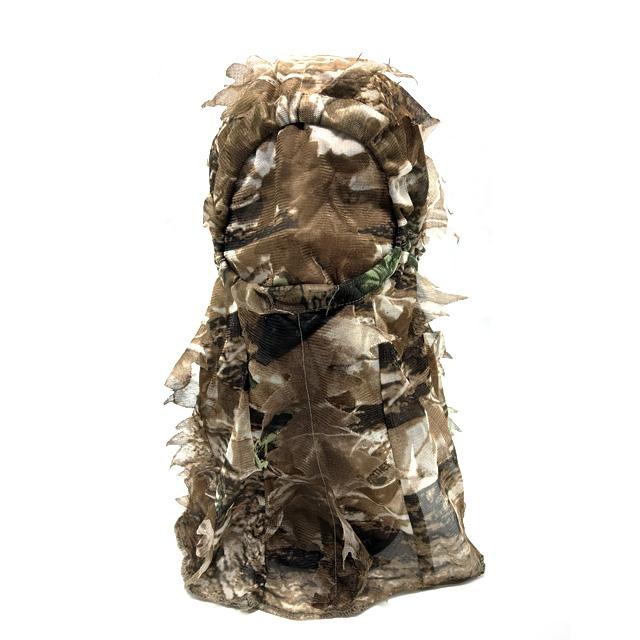 Camo Full Head Net 3D Leafy Hunting Face Mask