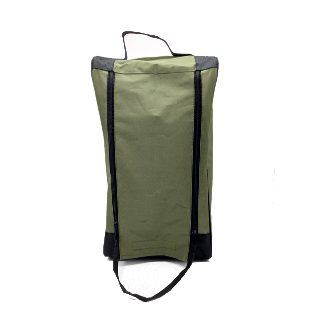 Durable Nylon Boots Bag Sport Shoe Carrying Case With Handle