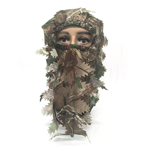 Hunting 3D Leafy Face Mask 074005
