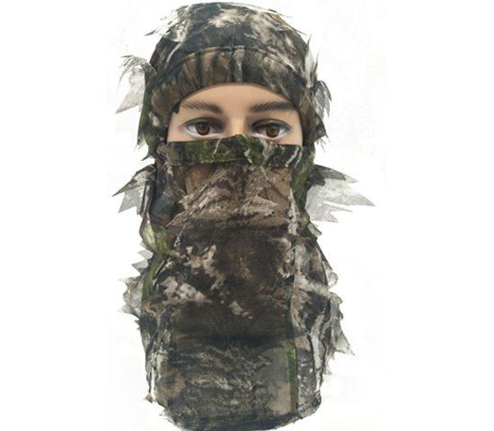 Hunting Full Head Net 3D Leafy Face mask 074013