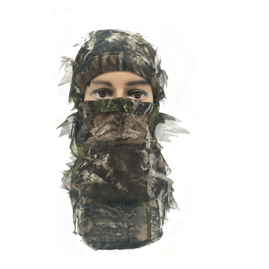 Hunting Full Head Net 3D Leafy Face mask 074013