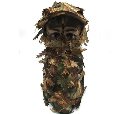 Hunting Hat With Full 3D Face Mask 074015