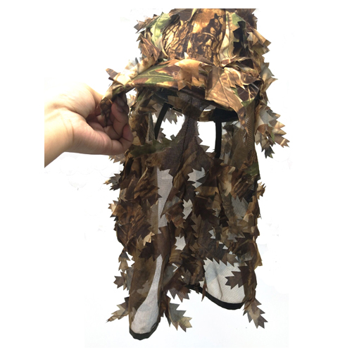 Hunting Hat With Full 3D Face Mask