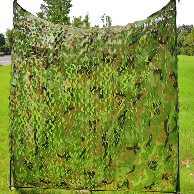 Woodland Camo Netting Camping Military Hunting Shooting Nets (1)