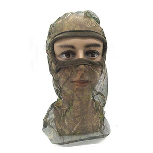 Full Mesh Headnet Camouflage Face Mask 074016