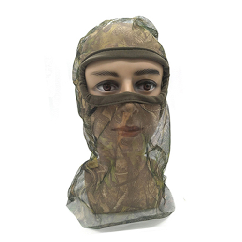Full Mesh Headnet Camouflage Face Mask 074016