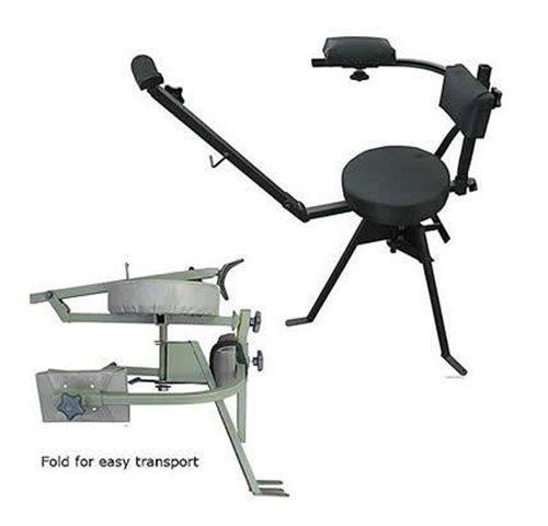 Rifle Shooting Chair Swivel Folding Chair